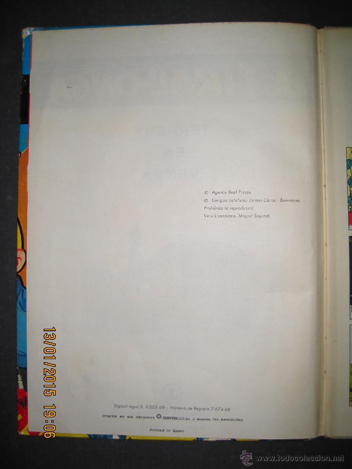 Tebeos: LA TIRALLONGA - TERRENY EN VENDA - EDITORIAL JAIMES LIBROS - COLECCION EPITOM - NUM· 6-(V-13.706) - Foto 3 - 47174654