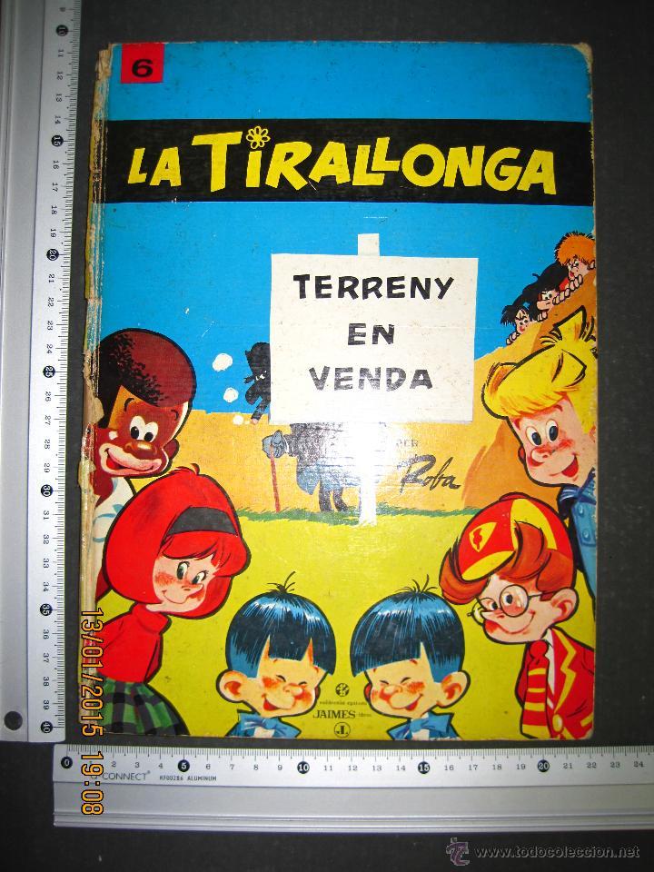 Tebeos: LA TIRALLONGA - TERRENY EN VENDA - EDITORIAL JAIMES LIBROS - COLECCION EPITOM - NUM· 6-(V-13.706) - Foto 8 - 47174654