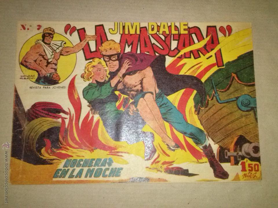 JIM DALE LA MASCARA Nº 7 - CREO (Tebeos y Comics - Tebeos Otras Editoriales Clásicas)