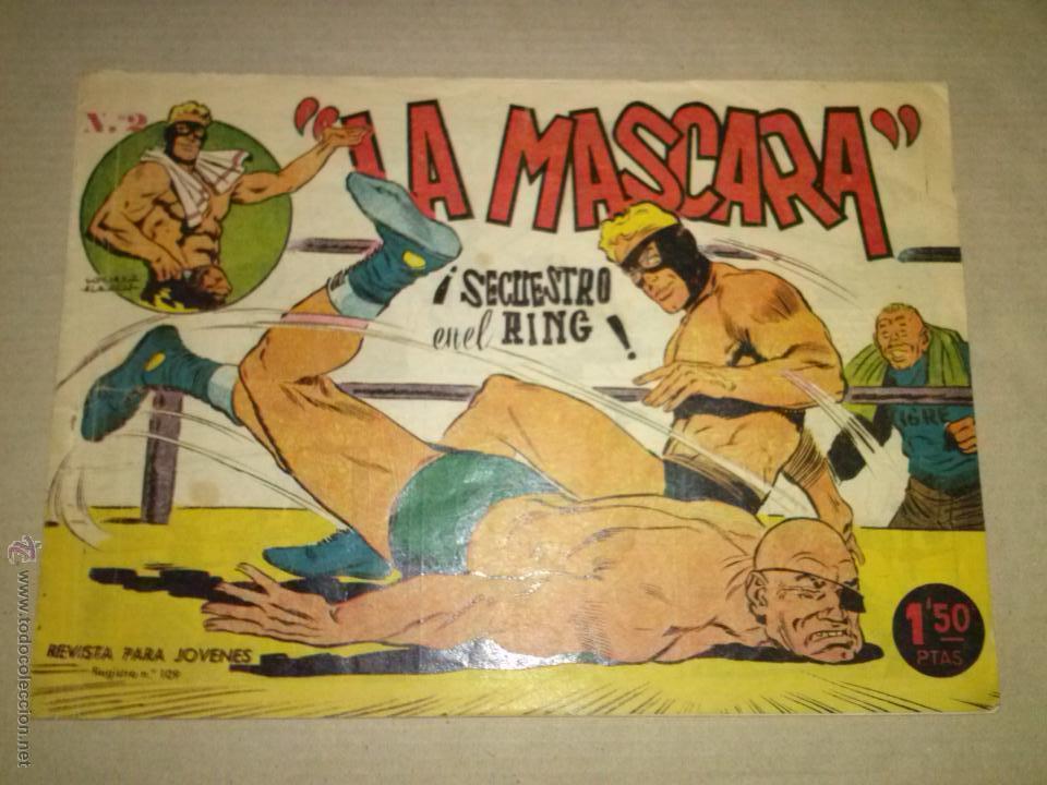 JIM DALE LA MASCARA Nº -2 CREO (Tebeos y Comics - Tebeos Otras Editoriales Clásicas)
