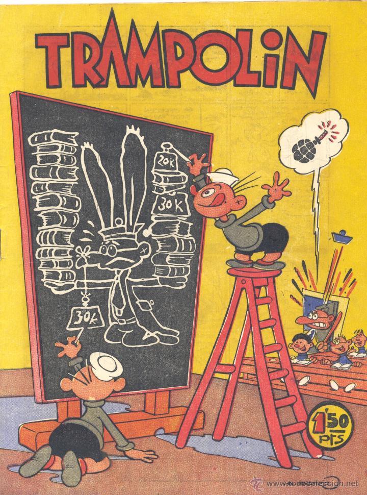 TRAMPOLÍN Nº34 (Tebeos y Comics - Tebeos Otras Editoriales Clásicas)