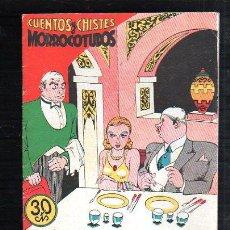 Tebeos: CUENTOS Y CHISTES MORROCOTUDOS. SERIE 6. Nº 13. COMERCIAL GERPLA. Lote 47465920