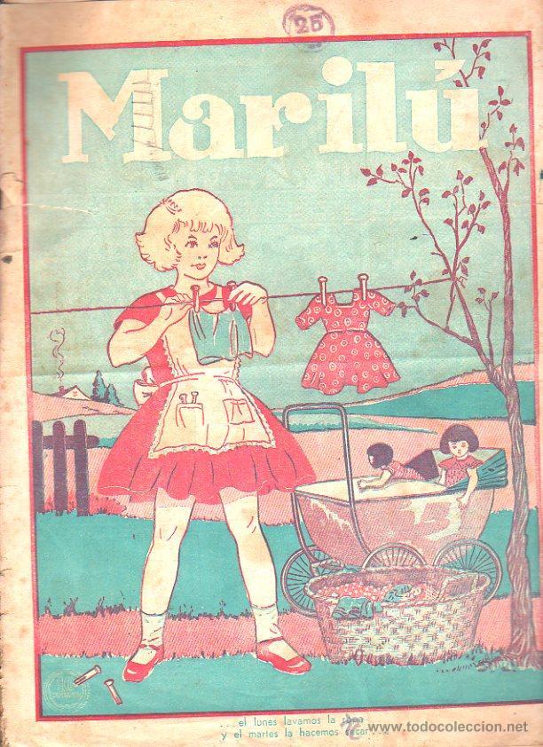 REVISTA ARGENTINA. MARILU. AÑO III. Nº 149. 9 ENERO 1936. EDITORIAL ATLANTIDA. LA DE LA FOTO (Tebeos y Comics - Tebeos Clásicos (Hasta 1.939))