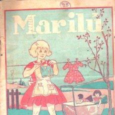 Tebeos: REVISTA ARGENTINA. MARILU. AÑO III. Nº 149. 9 ENERO 1936. EDITORIAL ATLANTIDA. LA DE LA FOTO. Lote 47485589