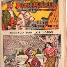 Tebeos: JOSE MARIA EL TEMPRENILLO . COMIC DE 1920 Nº15. Lote 47541940