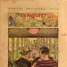 Tebeos: EN PATUFET - ANY XXXII Nº 1630 - BARCELONA 29 DE JUNY DE 1935. Lote 47583166