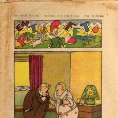Tebeos: EN PATUFET - ANY XXVII Nº 1365 - BARCELONA 17 DE MAIG DE 1930. Lote 47583193