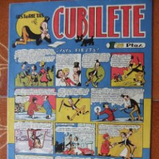 Tebeos: HISTORIETAS DEL CUBILETE Nº 1 EDITORIAL GONG DE VALENCIA 1949. Lote 47586936