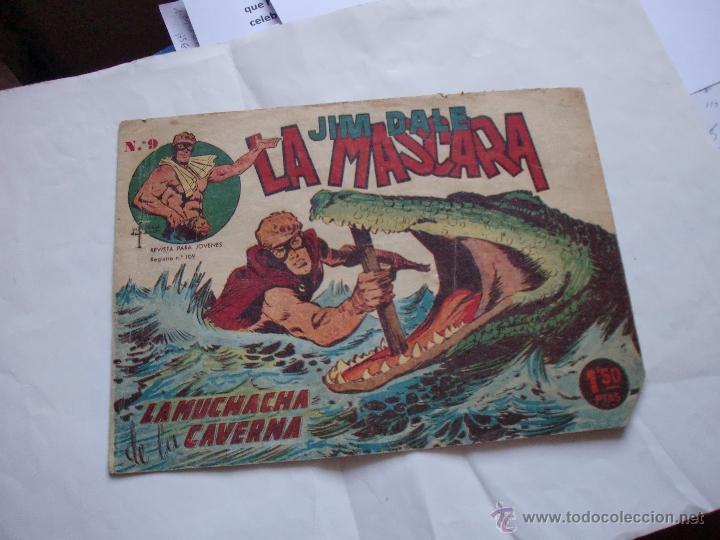 JIM DALE LA MASCARA Nº 9 ORIGINAL (Tebeos y Comics - Tebeos Otras Editoriales Clásicas)