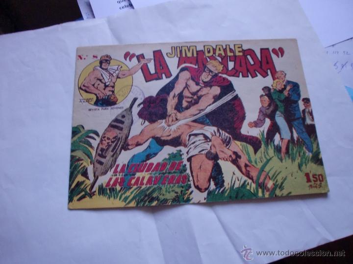 JIM DALE LA MASCARA Nº 8 ORIGINAL (Tebeos y Comics - Tebeos Otras Editoriales Clásicas)