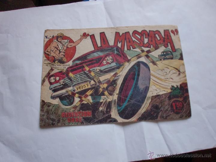 JIM DALE LA MASCARA Nº 4 ORIGINAL (Tebeos y Comics - Tebeos Otras Editoriales Clásicas)