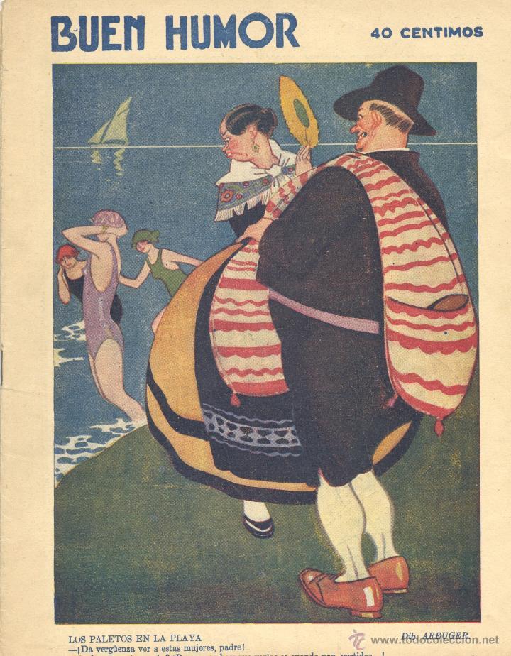 BUEN HUMOR Nº347. AÑO 1928 (Tebeos y Comics - Tebeos Clásicos (Hasta 1.939))