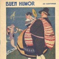 Tebeos: BUEN HUMOR Nº347. AÑO 1928. Lote 47642939