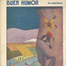 Tebeos: BUEN HUMOR Nº289. AÑO 1927. Lote 47664137