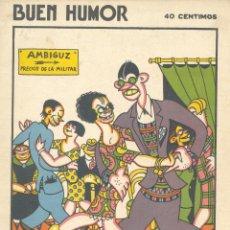 Tebeos: BUEN HUMOR Nº266. AÑO 1927. Lote 47685004