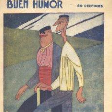 Tebeos: BUEN HUMOR Nº351. AÑO 1928. Lote 47685031