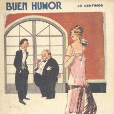 Tebeos: BUEN HUMOR Nº277. AÑO 1927. Lote 47685062