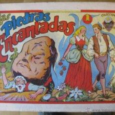 Tebeos: COLECCION MARGARITA - FAVENCIA 1951- LAS PIEDRAS ENCANTADAS. Lote 47800978