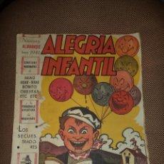 Tebeos: ALEGRIA INFANTIL. NUMERO ALMANAQUE PARA 1941. EDITORIAL EL GATO NEGRO. Lote 47829956