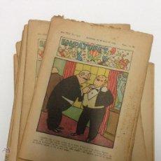 Tebeos: 12 COMICS DE EN PATUFET 1933 /1936 EN CATALÁN. Lote 48481973