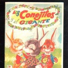 Tebeos: CUENTO LOS CONEJITOS Y EL GIGANTE. COLECCION LL. EDITORIAL FHER.. Lote 48511856