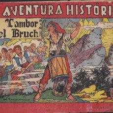 Tebeos: COMIC COLECCION LA AVENTURA HISTORICA EL TAMBOR DEL BRUCH . Lote 48520685