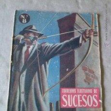 Tebeos: CUADERNO ILUSTRADO DE SUCESOS Nº 8 -. Lote 48524971