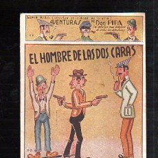 Tebeos: SERIE RISA. AVENTURAS DE DON PIPA. EL HOMBRE DE LAS DOS CARAS. EDICIONES PATRIOTICAS. Lote 48752654