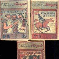 Tebeos: CUENTOS Y AVENTURAS DE PERIQUIN E. HERAS EDITOR AÑOS 1917-1920 NºS 16, 18 Y 20. Lote 48807073