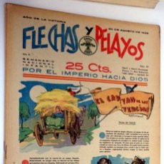 Tebeos: FLECHAS Y PELAYOS 20 AGOSTO 1939 NÚMERO 37. Lote 48956862