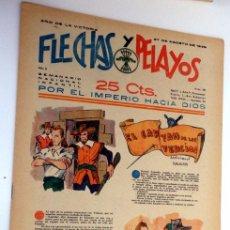 Tebeos: FLECHAS Y PELAYOS 27 AGOSTO 1939 NÚMERO 38. Lote 48956881
