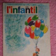 Tebeos: L'INFANTIL 135 PUBLICACIÓ DEL SEMINARI DE SOLSONA 1971. Lote 48980446