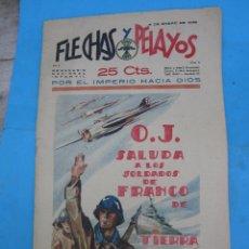Tebeos: FLECHAS Y PELAYOS 1939, NUMERO 5 RECORTABLE , LOS TRAJES DE INVIERNO DE MARI PEPA. Lote 49026673