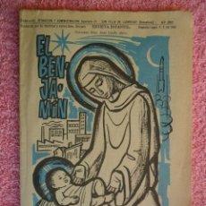 Tebeos: EL BENJAMÍN 299 NAVIDAD 1968 BENDECIDO POR SU SANTIDAD LIPSIA. Lote 49042061