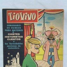 Livros de Banda Desenhada: CÓMIC TIO VIVO - Nº 43 - HISTORIETAS, HUMOR, CHISTES... - ED. CRISOL, AÑO 1958. Lote 49068774