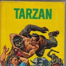 Tebeos: TARZAN - COLECCION TELE-FHER 1968 - AVENTURA EN EL TEMPLO DE THOT - TAPA DURA . Lote 49289499