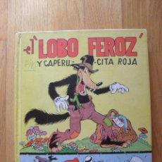 Tebeos: EL LOBO FEROZ Y CAPERUCITA ROJA, EDITORIAL MOLINO, 2 EDICION 1935. Lote 49422809