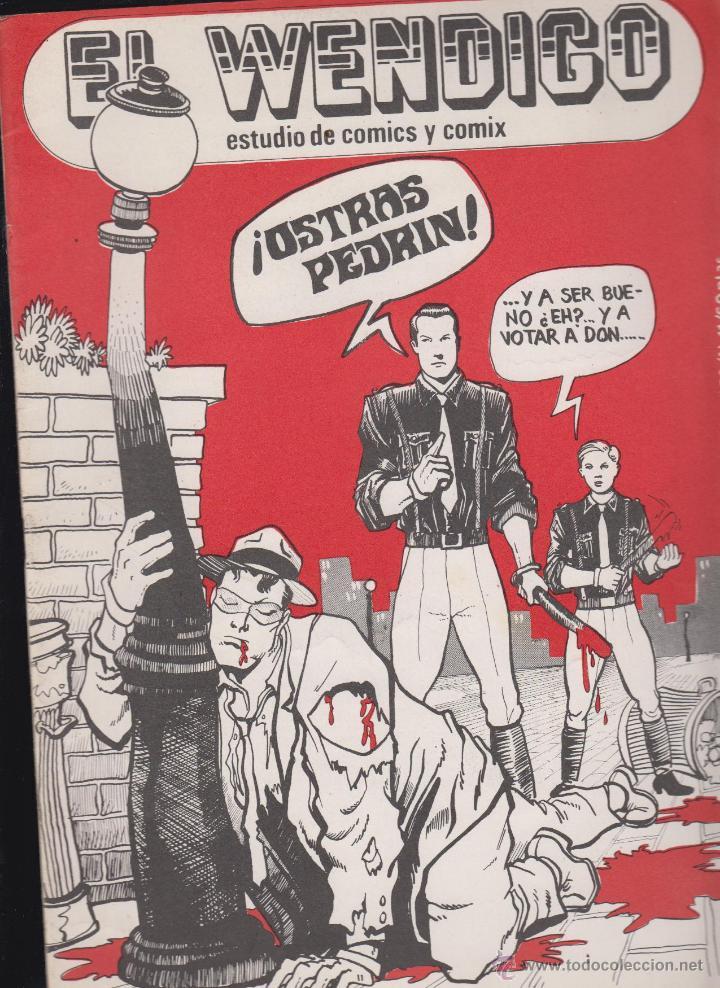 EL WENDIGO Nº 11 , ESTUDIO DEL COMICS , AÑO 1978 ROBERTO ALCAZAR Y PEDRIN (Tebeos y Comics - Tebeos Otras Editoriales Clásicas)