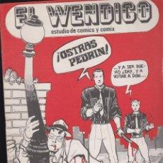 Tebeos: EL WENDIGO Nº 11 , ESTUDIO DEL COMICS , AÑO 1978 ROBERTO ALCAZAR Y PEDRIN. Lote 49545912