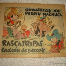 Tebeos: AVENTURAS DE PEDRIN MACHUCA . RASCATRIPAS LADRÓN DE PERROS. EDITORIAL ESPAÑOLA . SAN SEBASTIAN. Lote 49604751