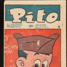 Tebeos: TEBEOS-COMICS GOYO - PITO EL SOLDADO PEQUEÑITO 1 - COL LILIPUT - SIMBOLO 1955- *OFERTA *BB99. Lote 49618406