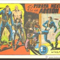 Tebeos: TEBEOS-COMICS GOYO - PIRATA NEGRO - Nº 5 - ED. BRUGUERA - 1948 - RARO *AA99. Lote 49643288