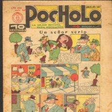 Tebeos: TEBEOS-COMICS CANDY - POCHOLO - Nº 187 - SALVADOR VIVES 1930 - DIFICIL* *CC99+. Lote 49643396