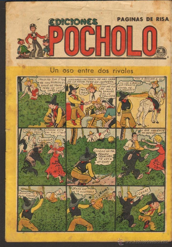 TEBEOS-COMICS CANDY - POCHOLO - Nº 33 - ED. SALVADOR VIVES - 1945 - MUY DIFICIL *CC99 (Tebeos y Comics - Tebeos Clásicos (Hasta 1.939))