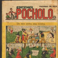 Tebeos: TEBEOS-COMICS CANDY - POCHOLO - Nº 33 - ED. SALVADOR VIVES - 1945 - MUY DIFICIL *CC99. Lote 49643430