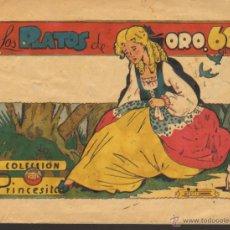 Tebeos: TEBEOS-COMICS CANDY - PRINCESITA - AMELLER - Nº 38 - 1ª EDICION - 1945 - MUY RARO *UU99. Lote 110554210