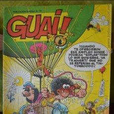 Tebeos: GUAI! 34 - TEBEOS SA - 1986 - GUAI 34. Lote 130640204