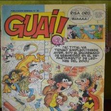 Tebeos: GUAI! 30 - TEBEOS SA - 1986 - GUAI 30. Lote 49983508