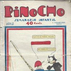 Tebeos: PINOCHO SEMANARIO INFANTIL AÑO II Nº 90 7 NOVIEMBRE 1926, ED. SATURNINO CALLEJA. Lote 50130857