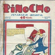 Tebeos: PINOCHO SEMANARIO INFANTIL AÑO II Nº 89 31 OCTUBRE 1926, ED. SATURNINO CALLEJA. Lote 50130867
